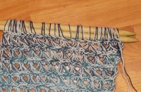 пеуанское вязание
