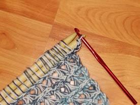 Вязание крючком на палке 18