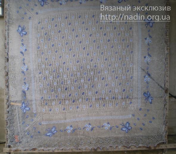 Вязание узоров платков